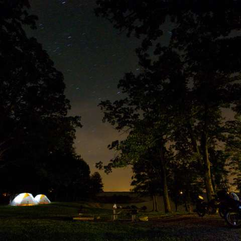 Dam West Campground