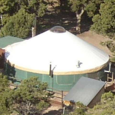 The YURT at Screwball Ranch Camp