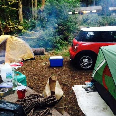 Fairholme Campground