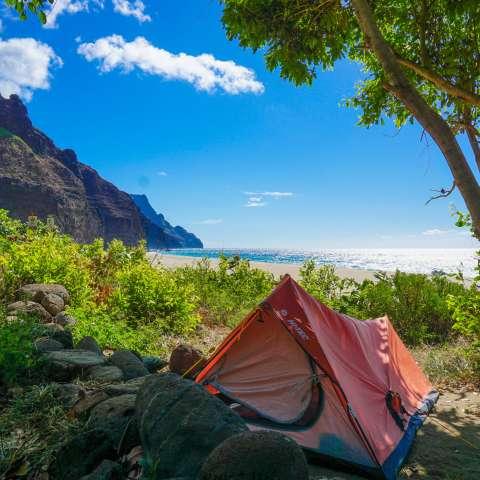 Kalalau Campground