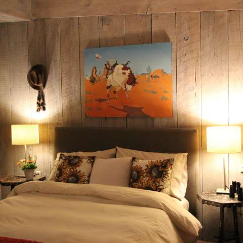 The Cowhand Room