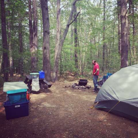 Wompatuck Campground