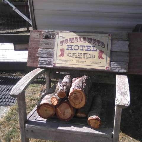 The 'Tumbleweed Hotel' Camper