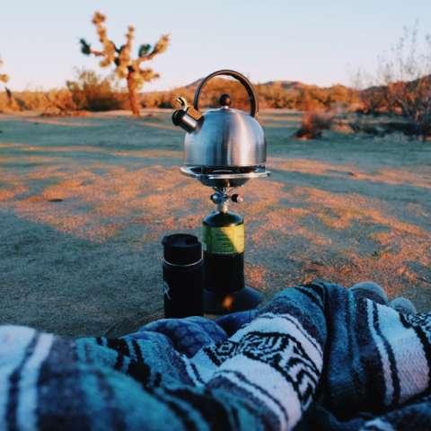 Light Park Tent Camping