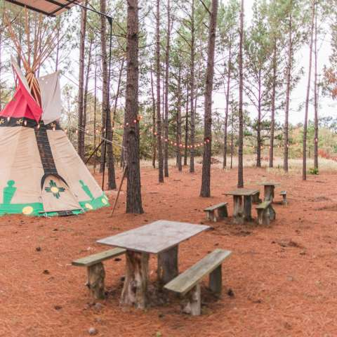 Spirit Warrior Tipi