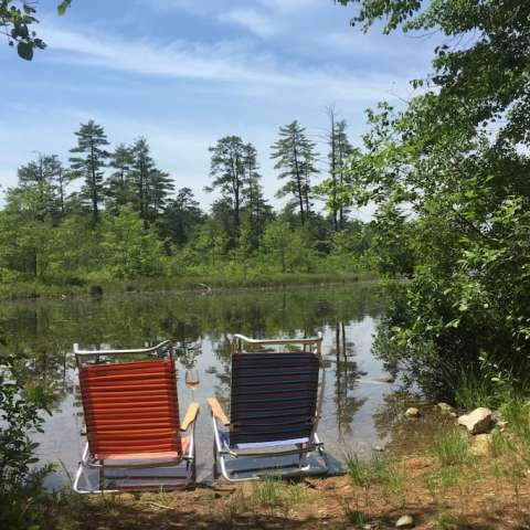 MainelyGlamping Hide-Away Cabin