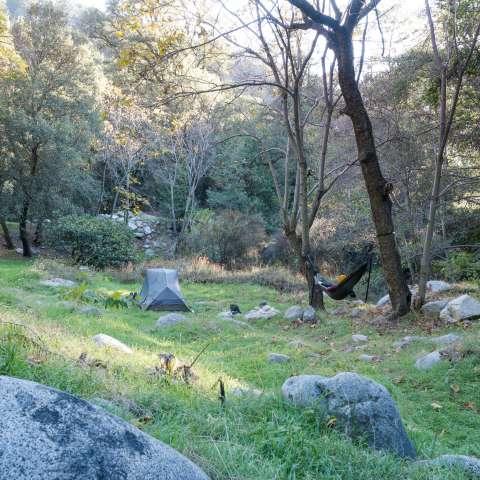 Idlehour Trail Camp