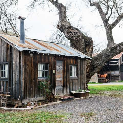 Historic Hetch Hetchy Cabin