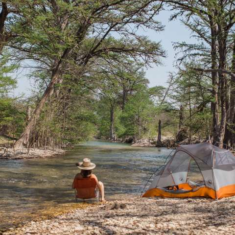 Rustic Texas Ranch Camping
