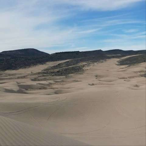 Idaho Sand Dunes Eclipse Camp