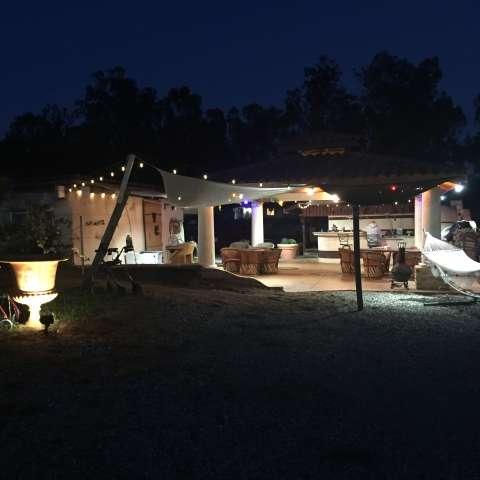 RV camp on private Estate