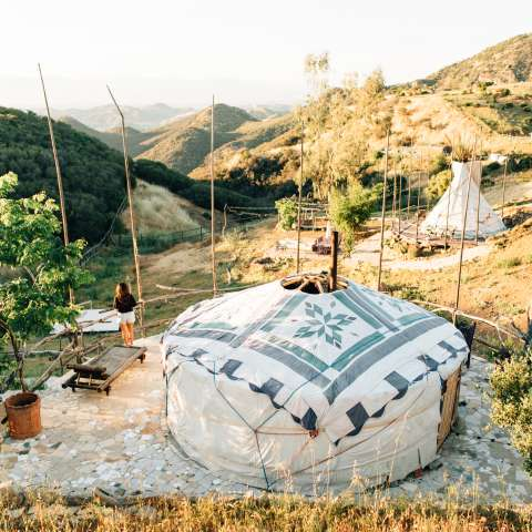 Yurt In Malibu Mountains