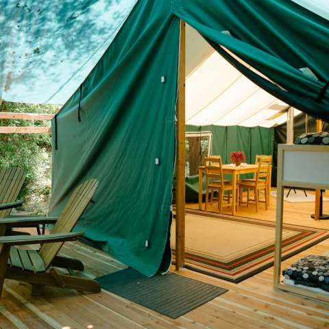 #1 Family Glamping Safari Tent