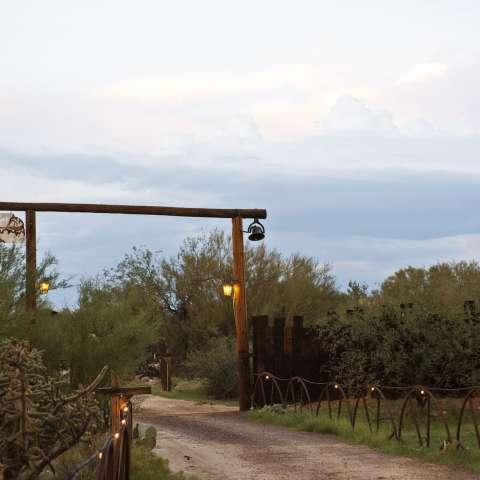 A Horse Ranch in High Desert
