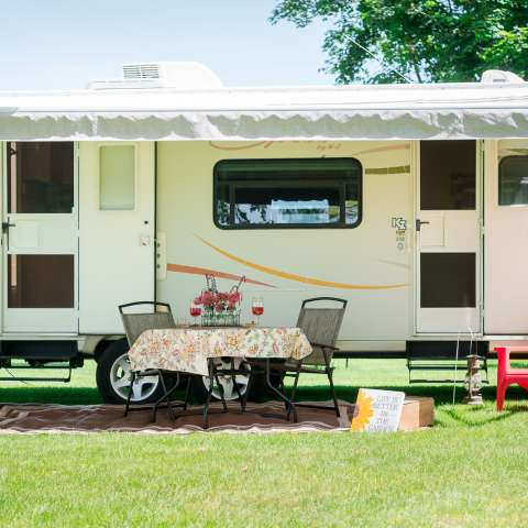Go Glamping on the Farm