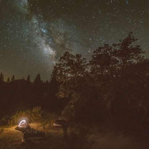 Perseid's Meteor Shower Campout