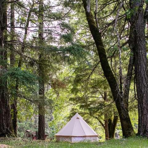 Illinois River open Tent or Van