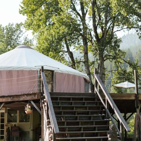 Klamath Riverview Yurt