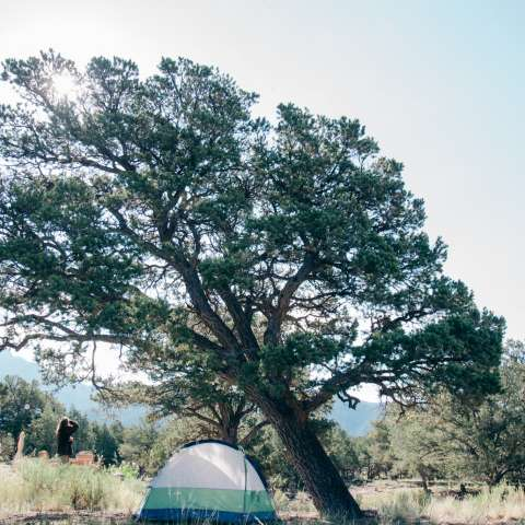 Soul Space Colorado Campsite