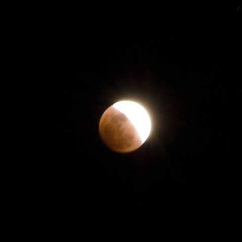 Teton Mountian View Eclipse