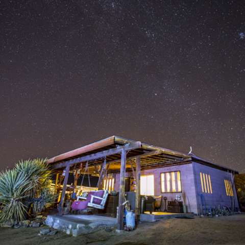 Joshua Tree Shell House