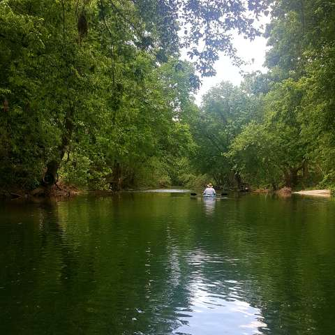 Creekside Camping in the Ozarks