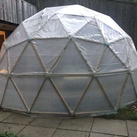 Spiritual Woods Geodesic Dome