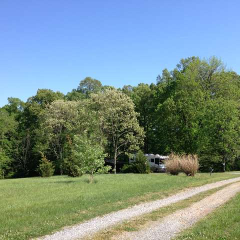 Small farm private RV site