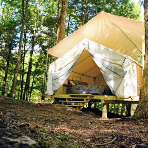 Eco-Friendly Safari Tent
