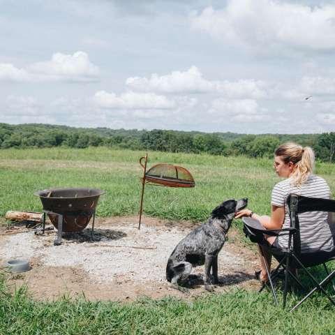 High pasture campsite #1