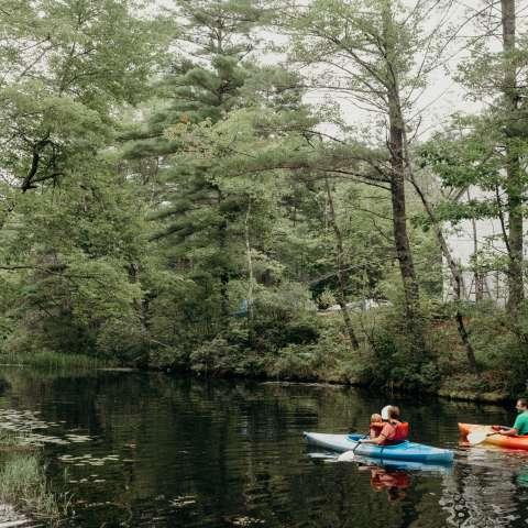 Waterfront Camping -Kayaks Incl
