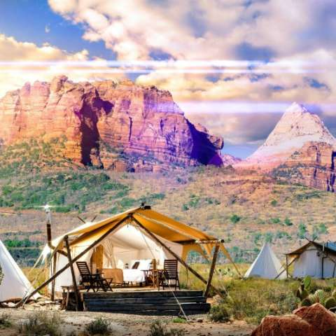 Zion Suite with Adjacent Tipi
