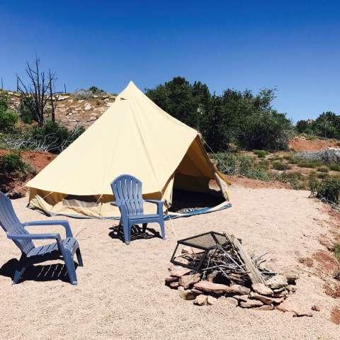 Zion Vista 1200 acre eco-camp