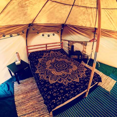 Dog Friendly Yurt (16 foot)