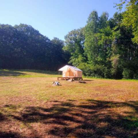 Glamping Canvas Tent