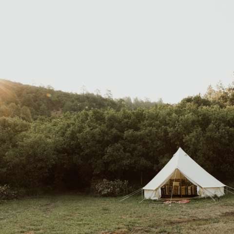 Glamping at High Road Santuario