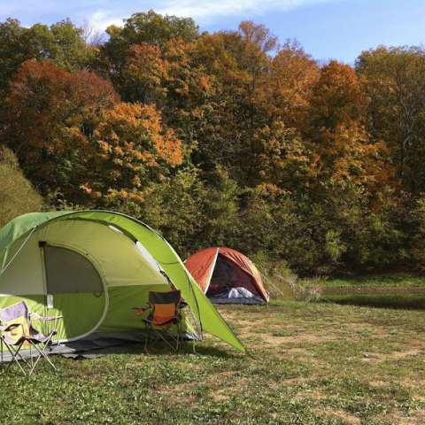 Camping at Harpeth Pass