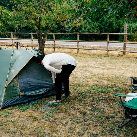 Orchard Camping on the River