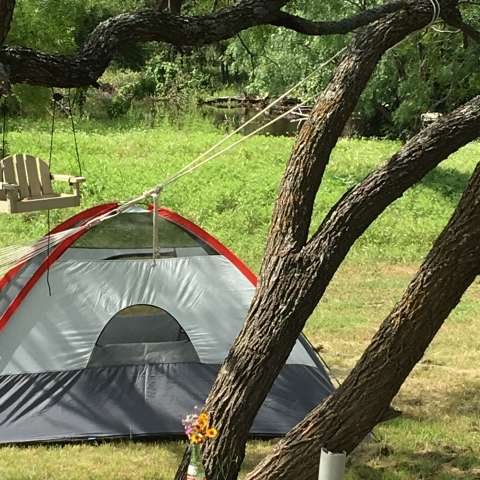 Tent Camping at the Retreat