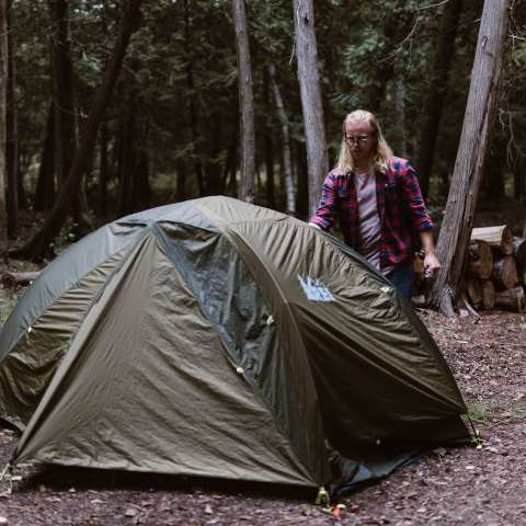 Back Forty Tent Camping