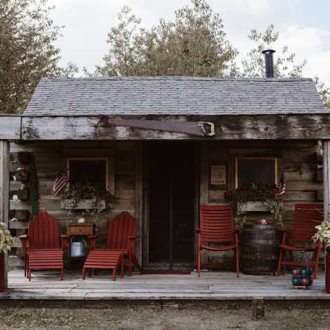 Wild Pines Rustic Cabin