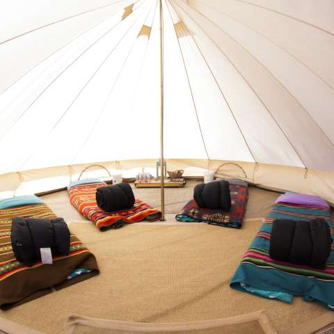 Navajoland Bell Tent Glamping 2