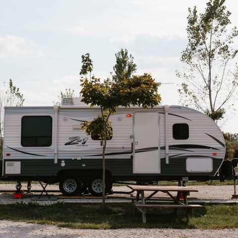 A Relaxing Camper Getaway
