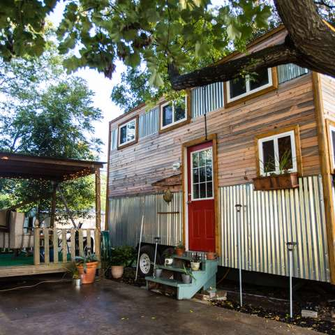 Tiny House Glamping in Austin