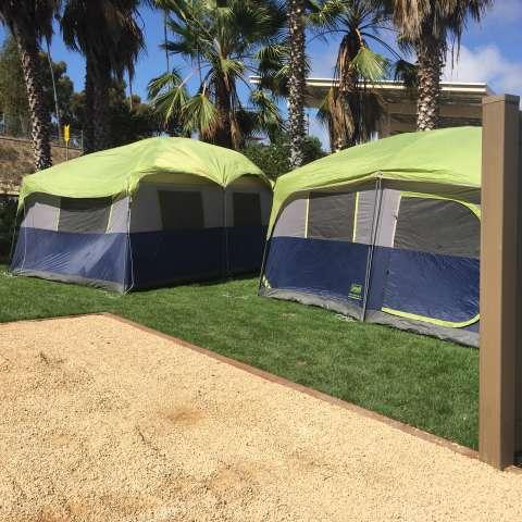 Oceanside RV - NEW Tent Sites!