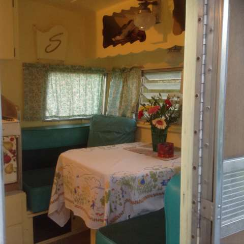 Vintage 1962 Travel Trailer