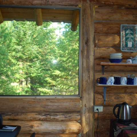 Iron Horse Forest Rustic Cabin