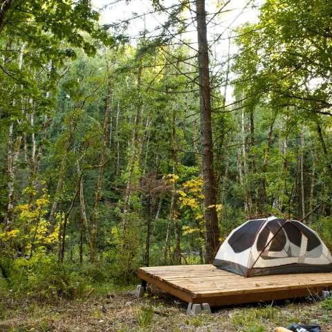 Cedar Grove Hike-In Tent Camp