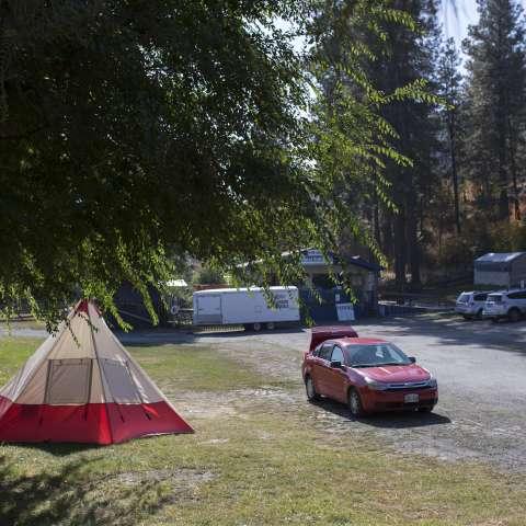 Opsrey RV Campsite (No Hookups)