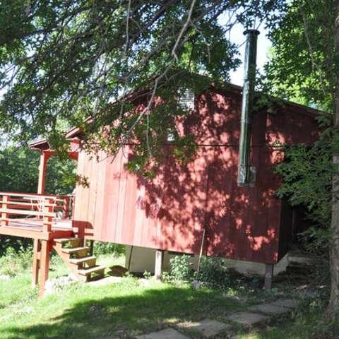 The cabin @ Cole's Greene Acres